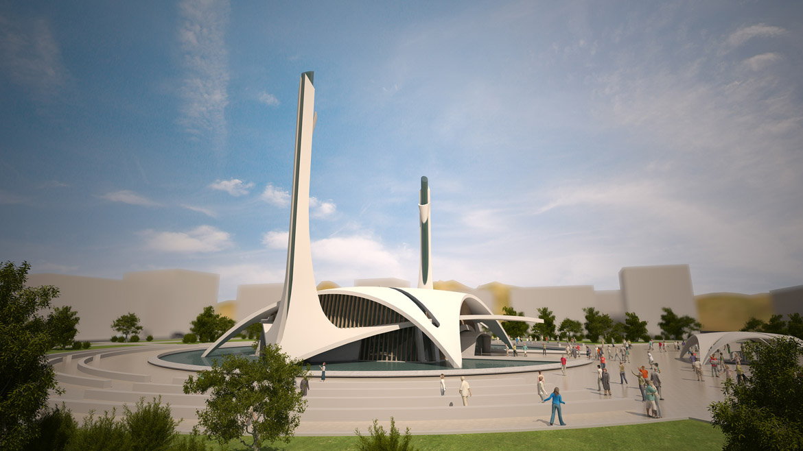 Kayseri Mosque Idea Project Competition